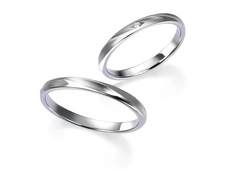 結婚指輪WRA033 (Men's)/WRB048(Women's)