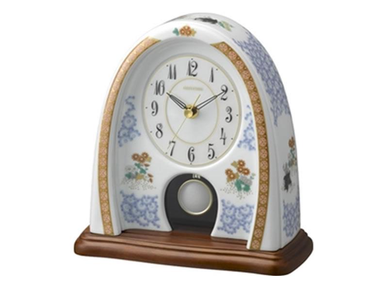 製品番号:4RP798HG04有田焼香蘭社とリズム時計のコラボ商品