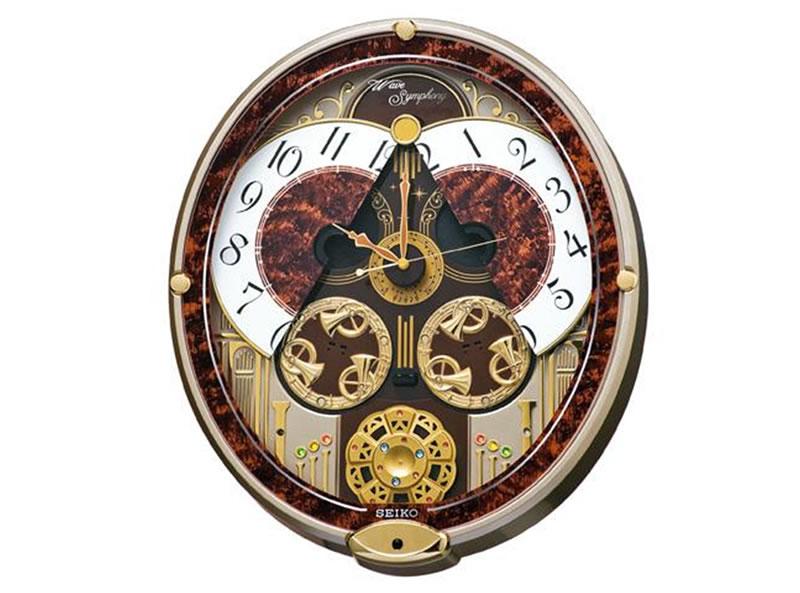 SEIKO 製品番号:RE568Bからくり電波時計