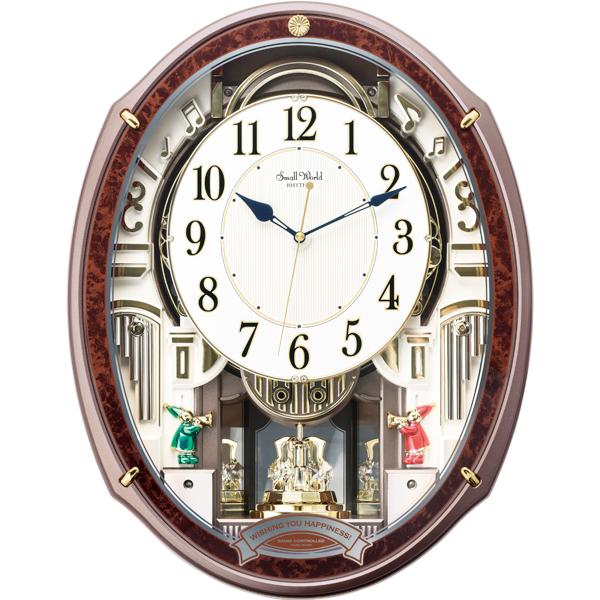 RT-5091電波掛時計 スモールワールドアルディ