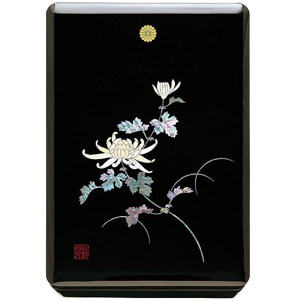 SB-1010文庫 螺鈿 菊