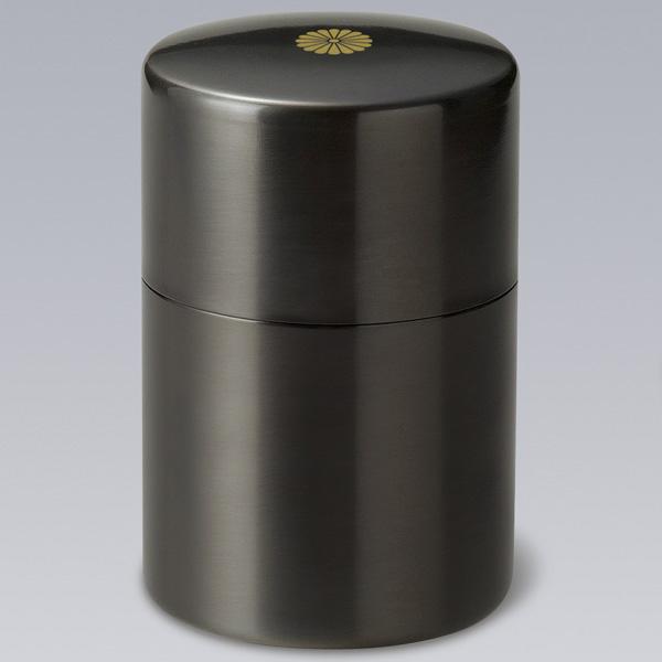 KS-1620茶筒 黒光色