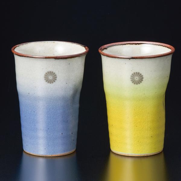 SD-3678ペアカップ 彩釉