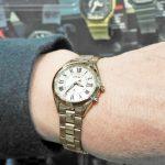 【お客様レポートno.239】金色過ぎない色味と時計の形に惹かれて…セイコールキアSSQV068